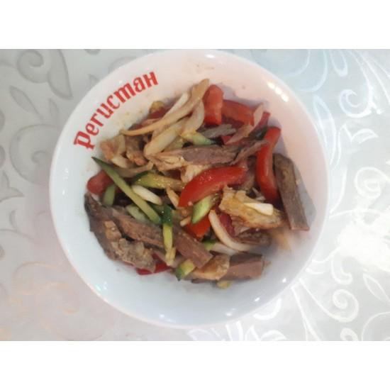 Тайский (огурцы, мясо, болгарский перец, специи