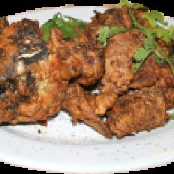 Ганзауй (рыба жареная, целиком в кляре)
