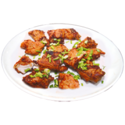 Ганзаюкар (жареный судак кусочками в кляре со специями)