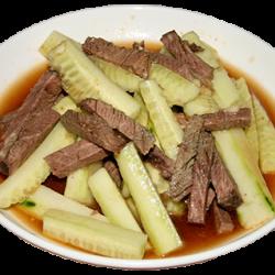 Хуангуа жутяу (мясо, огурец)