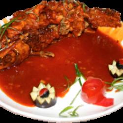 Хуншаюкар (рыба под кисло-сладким соусом)