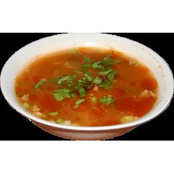 Мампар (кусочки теста, мясо, овощи)