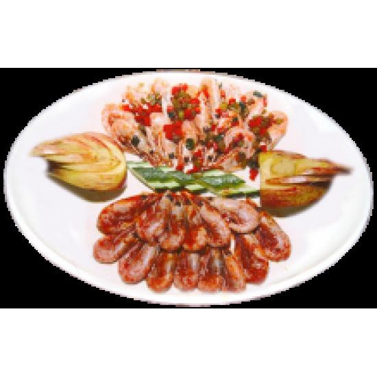 Регистан (ассорти из солёных и сладких креветок)