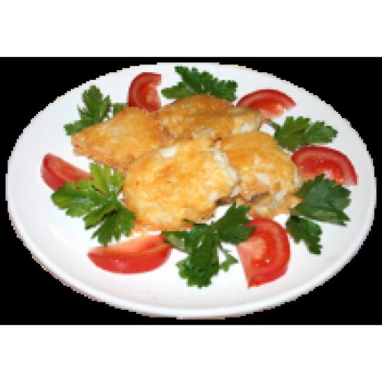 Рыба в сырной корке