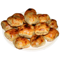 Самса (рубленое мясо говядины), 1 шт.