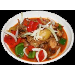 Шаупянджи (курица с картофелем и овощами)