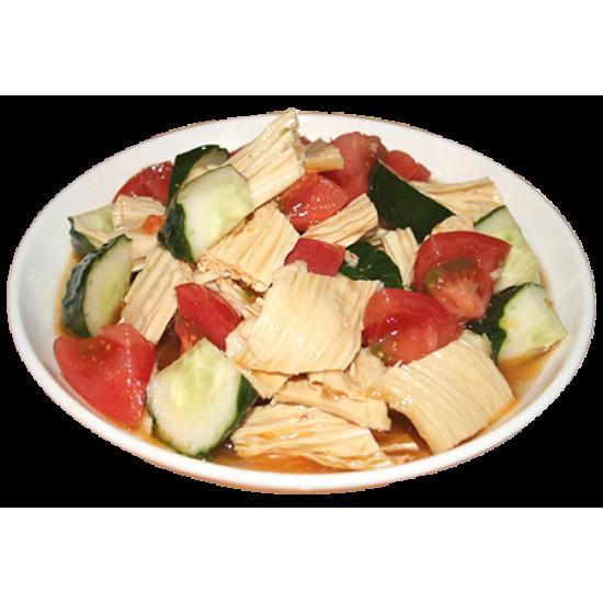 Спаржа (спаржа, помидоры, огурцы, специи)