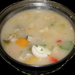 Тохошорпа (мясо курицы, яйцо, лук, специи)