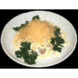 Восточный (курица копчёная, яйцо, сыр, майонез)