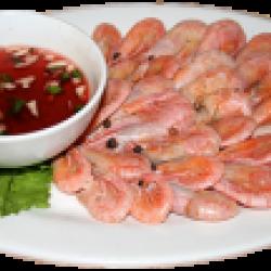 Янсушаухунша (варёные креветки с соусом)